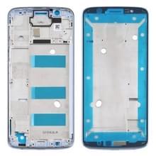 Front Housing LCD Frame Bezel voor Motorola Moto G6 Plus(Blauw)