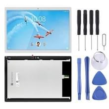 LCD-scherm en digitizer volledige assemblage voor Lenovo tab M10/tab 5 plus TB-X605L TB-X605F TB-X605M TB-X605 (wit)