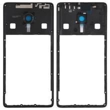 Midden Frame omlijsting met cameralens voor Lenovo ZUK Z2 Pro (zwart)