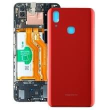 Achterste schutblad met gat voor Vivo X21(Red)