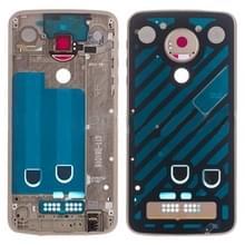 Middelste frame bezel plaat voor Motorola Moto Z Play XT1635 (goud)