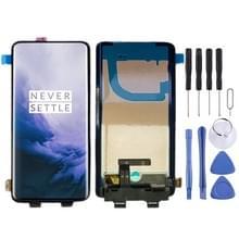 LCD-scherm en digitizer volledige montage met frame voor OnePlus 7 Pro (zwart)