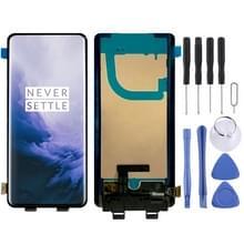 LCD-scherm en digitizer volledige montage (AMOLED-materiaal) voor OnePlus 7 Pro (zwart)