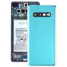 Batterij achtercover met camera lens voor Galaxy S10 PLUS (groen)