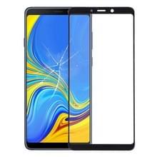 Front screen buitenste glazen lens voor Galaxy A9 (2018)/A9s (zwart)