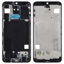 Front behuizing LCD frame bezel Plate voor Galaxy A40 (zwart)
