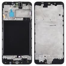 Front behuizing LCD frame bezel Plate voor Galaxy A10 (zwart)