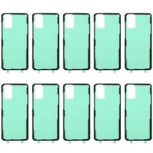 10 PCS Back Housing Cover Lijm voor Samsung Galaxy S20+