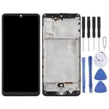 TFT Materiaal LCD-scherm en Digitizer Full Assembly Met Frame voor Samsung Galaxy A31 / SM-A315 (Zwart)