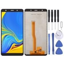 incell LCD-scherm en digitizer volledige assemblage voor Galaxy A7 (2018) A750F/DS  A750G  A750FN/DS (zwart)