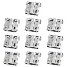 10 stuks opladen poort connector voor Galaxy S4/E250S/E250K/E300S/E300L/S4 zoom SM-C101
