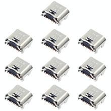 10 stuks opladen poort connector voor Galaxy tab E 8  0 T375 T377 T280 T285 T580 T585