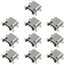 10 stuks opladen poort connector voor Galaxy core I8262D I829 I8260 G3815 G3812 G3818 T399 T599