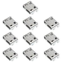 10 stuks opladen poort connector voor Galaxy trend Lite I739 I759 S6810 I9128 S5300 S7390