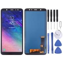 LCD-scherm en digitizer volledige assemblage (TFT-materiaal) voor Galaxy A6 PLUS (2018) (zwart)