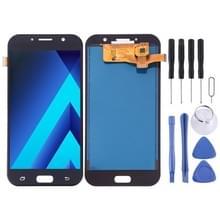 LCD-scherm en digitizer volledige assemblage (TFT-materiaal) voor Galaxy A7 (2017)  A720FA  A720F/DS (zwart)