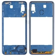 Middelste frame bezel plaat voor Galaxy A30 SM-A305F/DS (blauw)