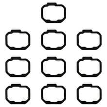 10 stuks vingerafdruk stickers voor Galaxy Opmerking 8