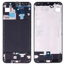 Front behuizing LCD frame bezel plaat voor Galaxy A50 SM-A505F/DS  A505FN/DS  A505GN/DS  A505FM/DS  A505YN (zwart)