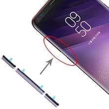 10 Set Side Keys voor Galaxy S8 / Galaxy S8+ (Grijs)