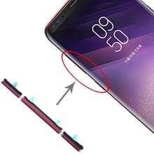 10 Set Side Keys voor Galaxy S8 / Galaxy S8+(Rood)