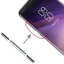 10 Set Side Keys for Galaxy S8 / Galaxy S8+ (Silver)