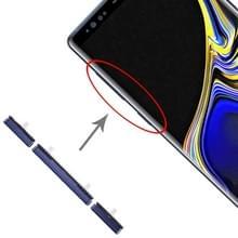 10 Zijtoetsen instellen voor Galaxy Note 9 (Blauw)