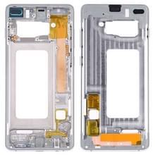 Middelste omlijsting plaat met Zijkleutels voor Samsung Galaxy S10 PLUS (zilver)
