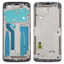 Front Housing LCD Frame Bezel Plate voor Motorola Moto E5 Plus (Paars)