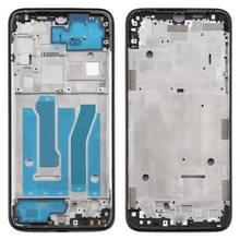 Front Housing LCD Frame Bezel Plate voor Motorola Moto G8 Plus(Zwart)