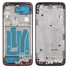 Front Housing LCD Frame Bezel Plate voor Motorola Moto G8 Plus(Rood)