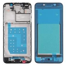 Front Housing LCD Frame Bezel Plate voor Motorola Moto E6 Play (Zwart)
