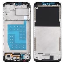 Front Housing LCD Frame Bezel Plate voor Motorola Moto G8 Power Lite (Zwart)