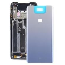 Glazen batterij achterkant voor Asus Zenfone 6 ZS630KL (Zilver)