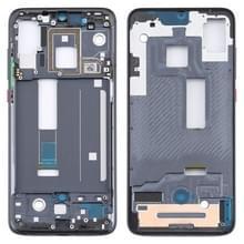 Front Housing LCD Frame Bezel Plate voor Xiaomi Mi 9 Pro 5G (Zwart)