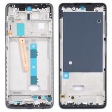 Front Housing LCD Frame Bezel Plate voor Xiaomi Poco X3 / Poco X3 NFC M2007J20CG / M2007J20CT (Zwart)