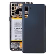 Batterij back cover voor OPPO A91 PCPM00 CPH2001 CPH2021 (Zwart)