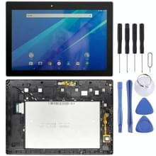 LCD-scherm en digitizer volledige montage met frame voor Lenovo Tab 3 10 Plus ZA0Y ZA0X TB3-X70L TB3-X70F TB3-X70N TB3-X70 (Zwart)