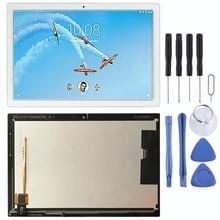 LCD-scherm en digitizer volledige assemblage voor Lenovo TAB4 10 REL Tablet TB-X504F TB-X504M TB-X504L(Wit)