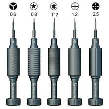 MONTEUR Mortel Mini iShell 5 in 1 Telefoon Reparatie Precision Screwdriver Set