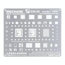Monteur S24-10 0 12mm BGA Reballing Stencil Template voor iPhone 12 Pro/12/12 Mini/12 Pro Max