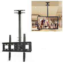 32-70 inch universele hoogte & hoek verstelbaar enkel scherm TV wandmontage plafond dual-use beugel  intrekbaar bereik: 0.5-1M