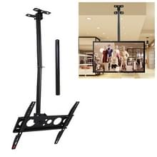 26-60 inch universele hoogte & hoek verstelbaar enkel scherm TV wandmontage plafond dual-use beugel  intrekbaar bereik: 0.5-2m