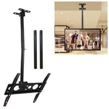 26-60 inch universele hoogte & hoek verstelbaar enkel scherm TV wandmontage plafond dual-use beugel  intrekbaar bereik: 0.5-3m
