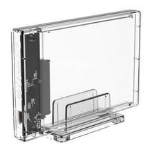 Transparante serie 2 5-inch 10Gbps Hard Drive behuizing met standaard