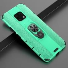Voor Huawei Mate 20 pro Schokbestendige PC + TPU-hoesje met ringhouder(groen)