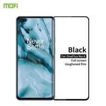 Voor Oneplus Nord MOFI 9H 2.5D Full Screen Tempered Glass Film(Zwart)