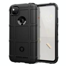 Voor Google Pixel 5 Full Coverage Shockproof TPU Case(Zwart)