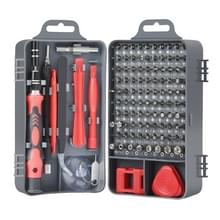 115 in 1 Precision Screw Driver Mobile Phone Computer Demontage Maintenance Tool Set(Red)