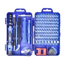 115 in 1 Precision Screw Driver Mobile Phone Computer Demontage Maintenance Tool Set(Blauw)